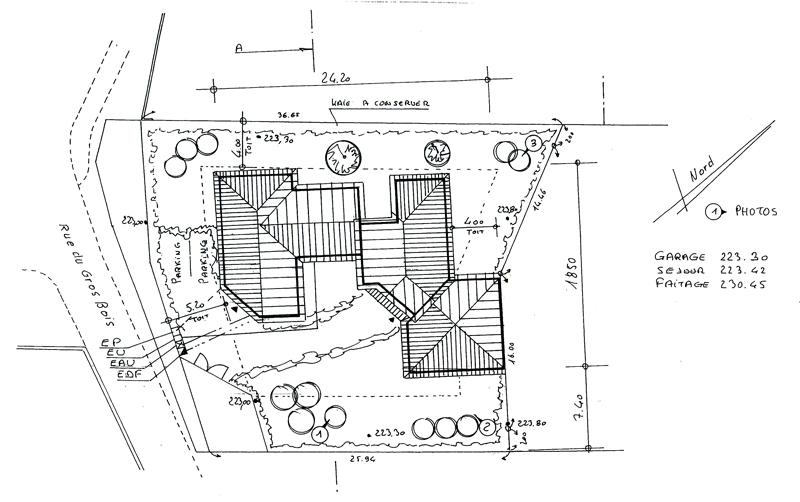Plan De Masse Des Constructions